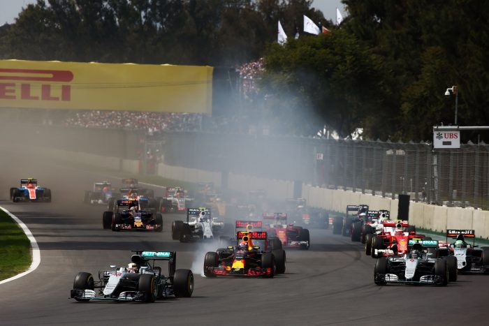 Motor Racing - Formula One World Championship - Mexican Grand Prix - Race Day - Mexico City, Mexico