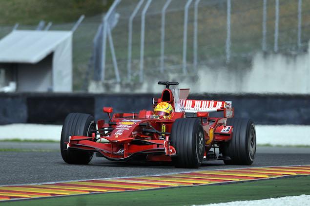 Valentino Rossi, Test, Mugello 2008